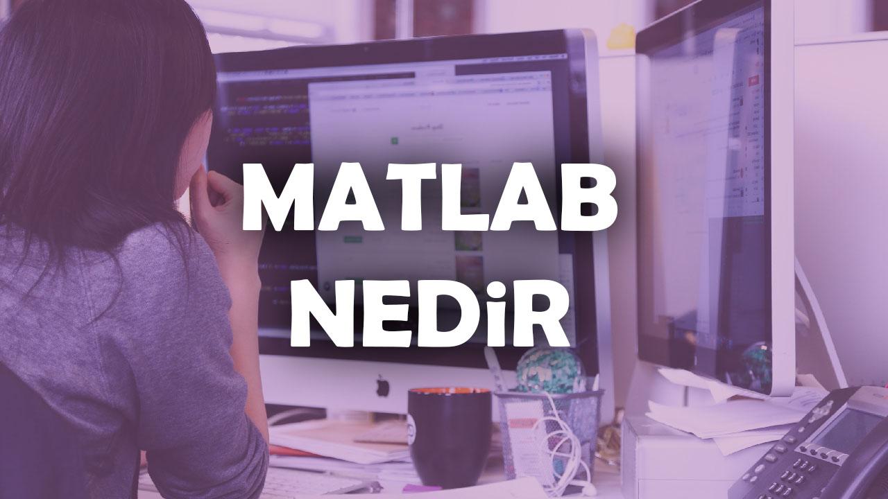 mathworks, matlab, matlab başlangıç, matlab nedir, matlab programı, matlab programlama dili