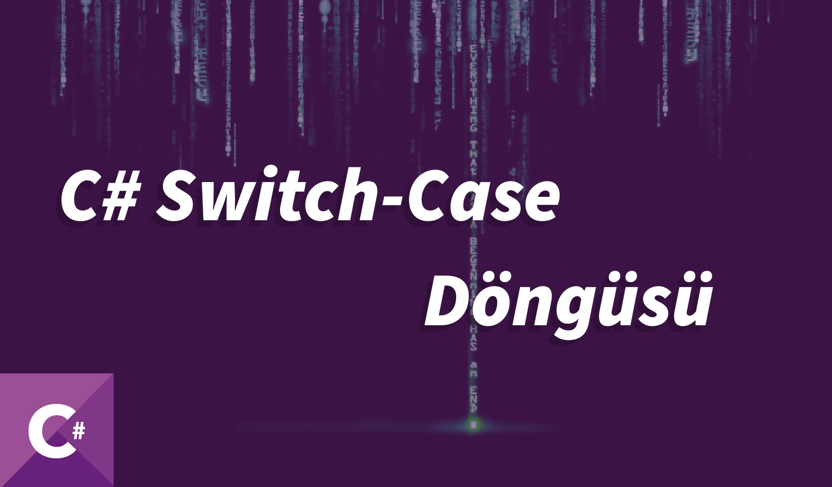 switch case, c# switch case, c sharp switch case, c# switch, c sharp switch, kodlama öğren, yazılım öğren, c# öğren, c sharp öğren